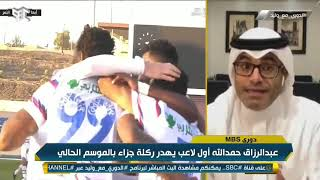 محمد الشيخ : السومة أفضل مهاجم في الدوري