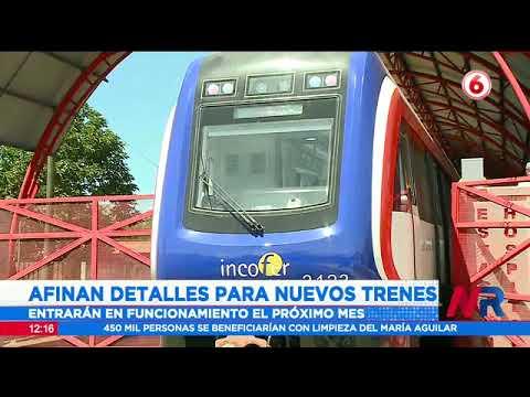 INCOFER afina detalles de nuevos trenes