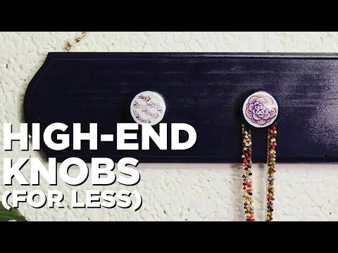 High-End Knobs for Nothing - HGTV