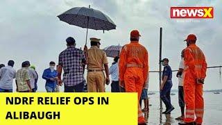 NDRF relief ops in Alibaugh |NewsX - NEWSXLIVE