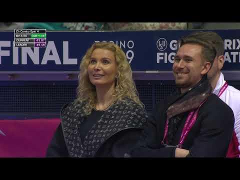 Алина Загитова. Короткая программа. Женщины. Финал Гран-при по фигурному катанию 2019/20