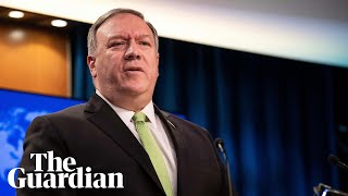 Mike Pompeo attacks China and says 'we stand with Australia'