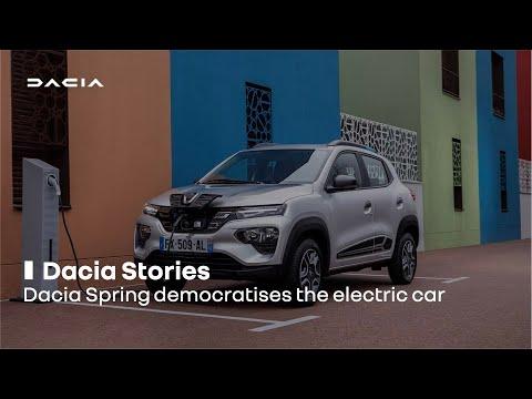 Dacia Springdemocratises the electric car | Renault Group
