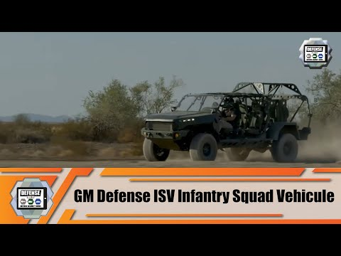 Review GM Defense interview about ISV Infantry Squad Vehicles Colorado ZR2-based for US Army