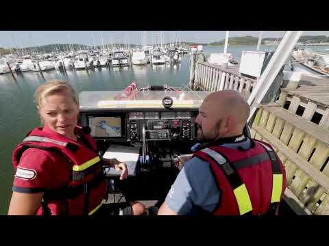 Sjöräddningssällskapet: Öppen båt på Gunnel Larson-klassen