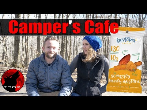 Youtopia Snacks - Camper's Cafe Review