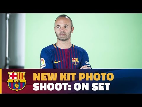 Making of the launch of the new Barça kit