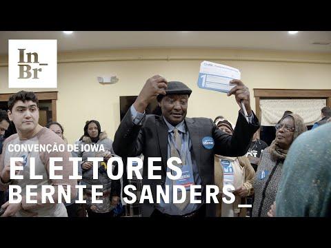 Como os eleitores de Bernie Sanders ganharam na convenção de Iowa