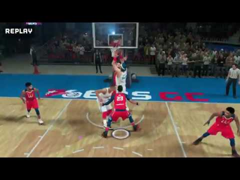 NBA 2K League | Condensed Game: 76ers GC vs Wizards District Gaming (THE TURN)