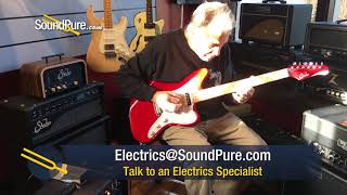 Suhr Custom Classic JM Candy Apple Red Electric #JS2A0D Quick 'n Dirty     soundpurestudios