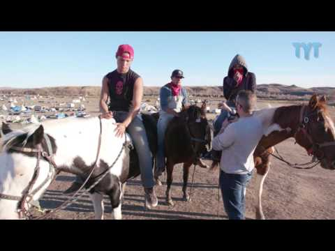 Standing Rock Horsemen Protect Against SHADY DAPL Infiltrators New Music Video