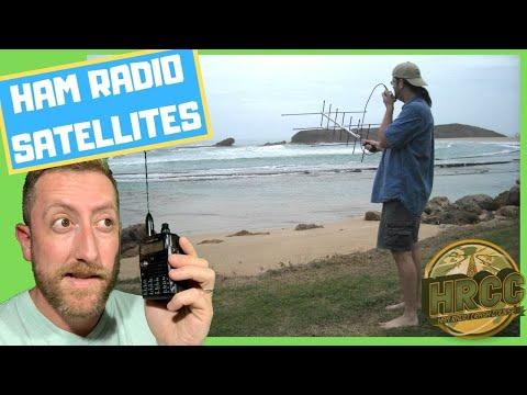 Getting With Ham Radio Satellites With Sean KX9X