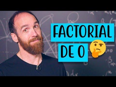 ¿Existe el factorial de 0?