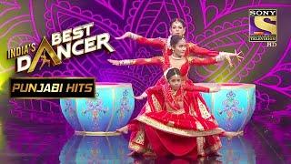 Rupsa और Shwetha की Performance के बीच ही उठ खड़े हुए Judges | India's Best Dancer | Punjabi Hits - SETINDIA