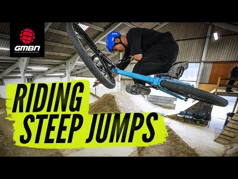 How To Ride Steep Jumps | Mountain Bike Skills