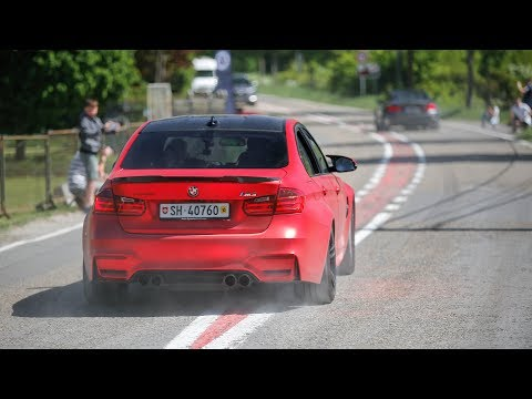 700HP Manhart MH3 700 BMW M3 F80 w/ Akrapovic Exhaust - LOUD Accelerations !
