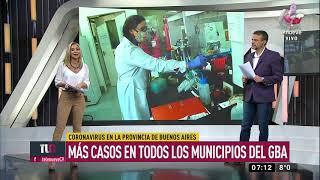 Récord de contagios de Covid-19 en Argentina: 904 casos