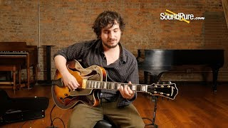 Eastman Jazz Elite 16 Sunburst Archtop Guitar #121130014 -Quick 'n' Dirty