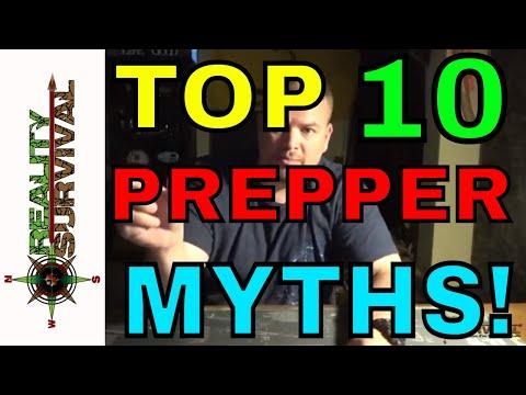 Top 10 Prepper Myths