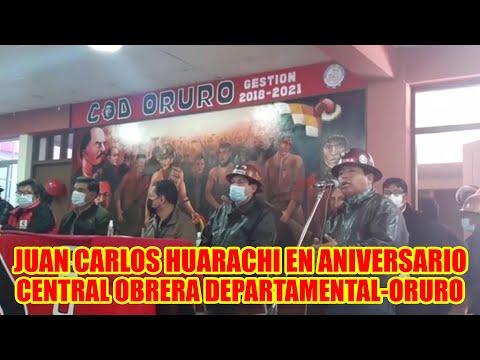 CENTRAL OBRERA DEPARTAMENTAL DE ORURO CUMPLE 68 ANIVERSARIO DE LUCH4 D3FENDIENDO LOS TRABAJADORES..