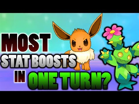 connectYoutube - What Is The Most Stat Boosts One Pokemon Can Get In One Turn In Pokemon Ultra Sun and Moon?