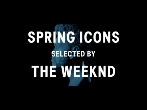 hm.com & H&M Promo Code video: Spring Icons selected by The Weeknd 2017