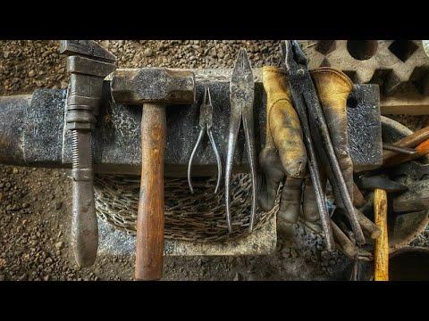 Blacksmithing DIY Making a Bedroll Cook set