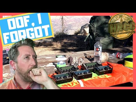 Top 10 Gear Left At Home On A Ham Radio Adventure