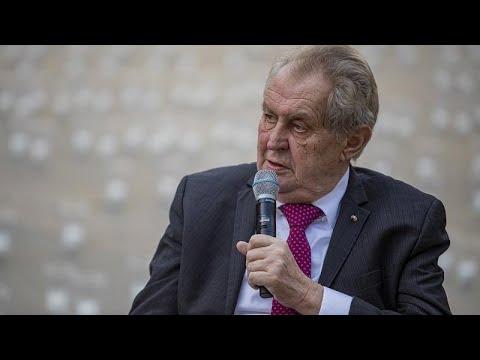 A cseh kormányfő és a házelnök veheti át Milos Zeman jogköreit
