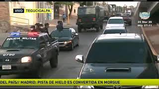 Fuerzas Armadas hacen entrega de ayuda en la Colonia Los Pinos