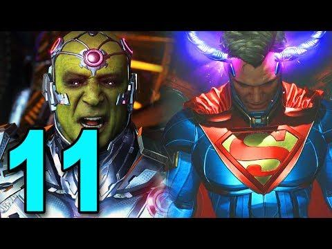 Injustice 2 - Part 11 - SUPER MAN VS BRANIAC!