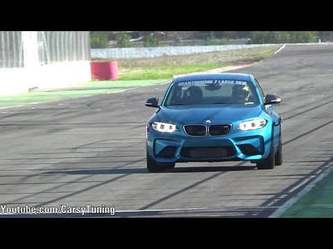 BMW M2 - Details, Revs, Fly By and Accelerations Sounds
