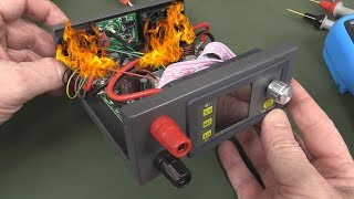 EEVblog #1035 - Flaming DIY Power Supply!