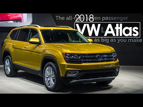 2016 Los Angeles Auto Show | 2018 VW Atlas | First Look & Overview