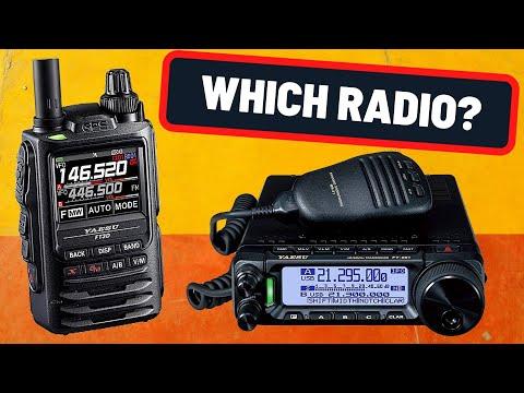 1 Radio for 1 Year Challenge - What Do You Pick? | Ham Radio