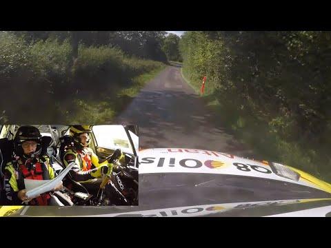 Uddrag fra Cimbern Rallye - DM-seriens første løb i 2020