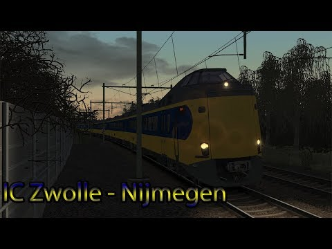 IC Zwolle  Nijmegen  Train Simulator 2018 Deel 2