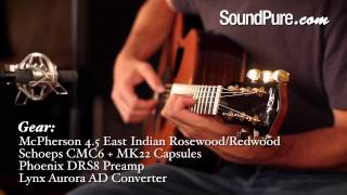 McPherson 4.5 East Indian Rosewood/Redwood Acoustic Guitar Demo - McPherson Guitars