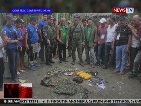 NTVL: 5 hinihinalang terorista, arestado ng PHL Army at pulisya sa Maguindanao