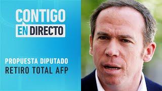 TRAS CUARTO RETIRO: Diputado Alessandri propuso sacar 100% de fondos AFP