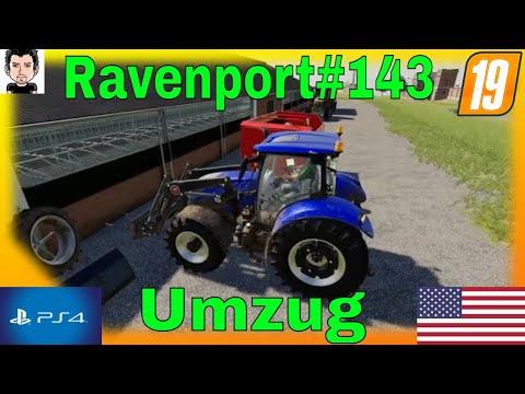 LS19 PS4 Ravenport Teil 143 die Kühe ziehen um Landwirtschafts Simulator 2019