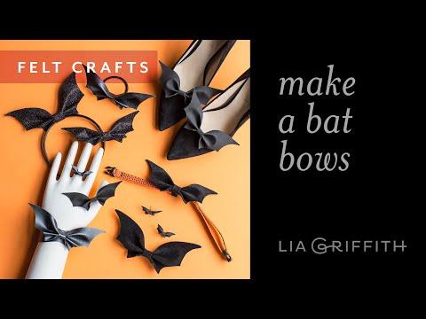 How To Make Bat Bows