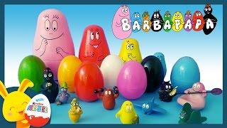 Couleurs - BARBAPAPA - Oeufs surprises Poupées gigognes pour les enfants - Titounis - Touni Toys