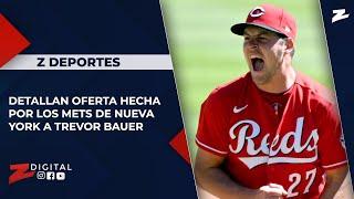 Detallan oferta hecha por los Mets de Nueva York a Trevor Bauer
