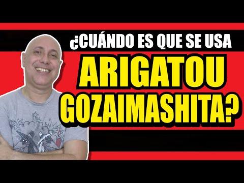 ¿CUÁNDO SE USA ARIGATOU GOZAIMASHITA? (¿CÓMO SE DIFERENCIA DE ARIGATOU GOZAIMASU?)