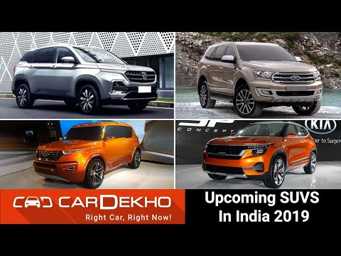 10 Upcoming SUVs in India in 2019 with Prices & Launch Dates - Kia SP2i, Carlino, MG Hector & More!