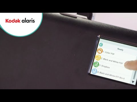 Smart Touch technology from Kodak Alaris Preview