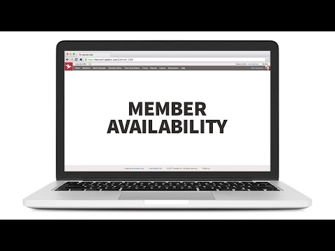Member Availability