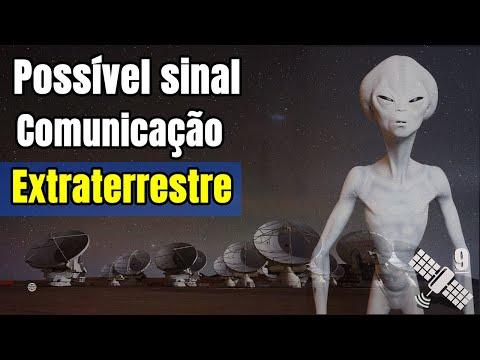 Cientistas detectam possível sinal de comunicação extraterrestre
