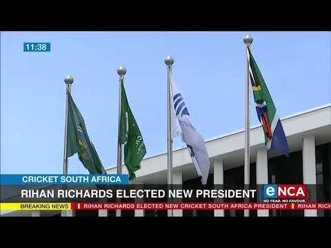 Rihan Richards elected as new CSA president